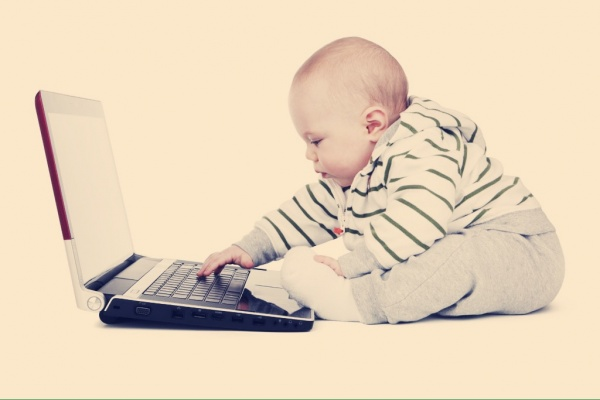 パソコンと子供②